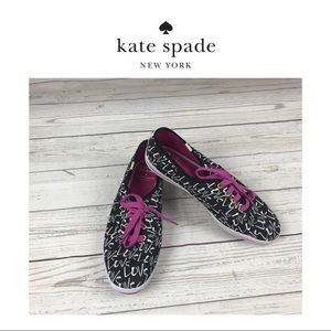 Kids For Kate Spade Tennis Shoes. Sz 9